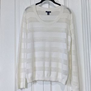 Tommy Hilfiger White Sweater - NEW